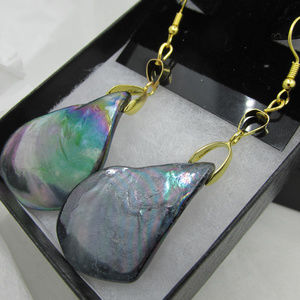 18K Gold Plated Shell Earrings